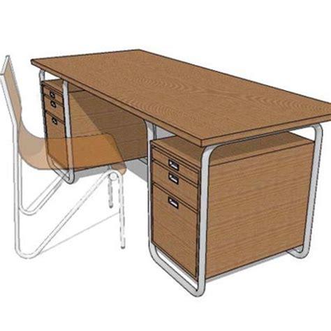study table 3d model formfonts 3d models textures