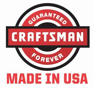 RonDoids: Craftsman Tools & Power Equipment 'Made in the