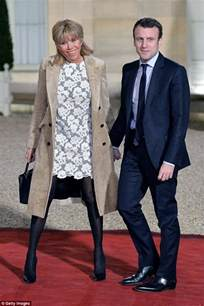 Brigitte Trogneux Macron Emmanuel and His Wife