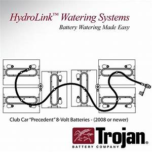 Trojan Hydrolink Battery Watering System Club Car
