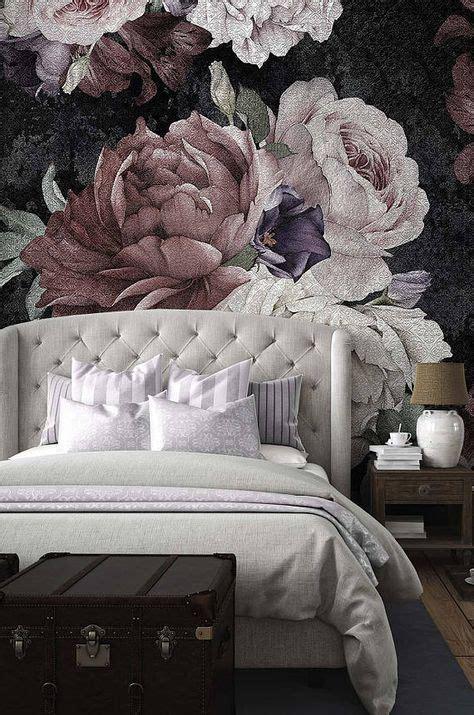 beautiful bold  dynamic flower mural inspirations