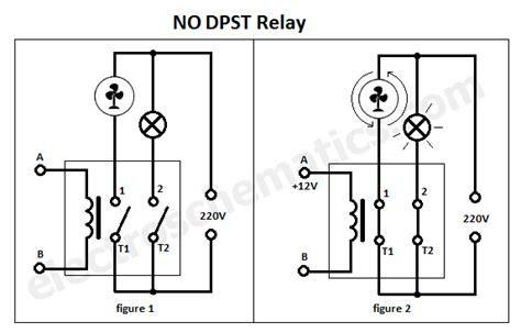 dpst relay pole single throw