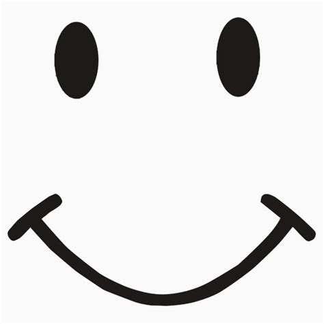 smile clipart black and white smiley clipartion