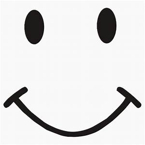 Smiley face black and white smile clipart black and white ...