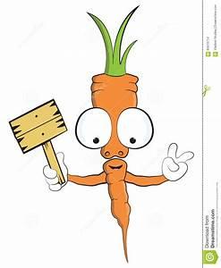 Cute Carrot Cartoon Mascot Vector Illustration Vegetable ...