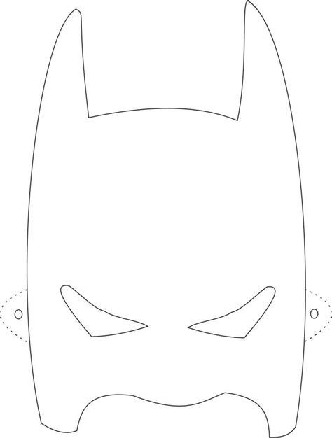 batman mask template batman mask printable coloring page for