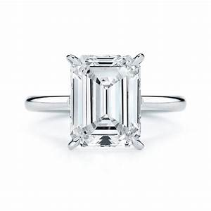Emerald Cut Engagement Rings Brides