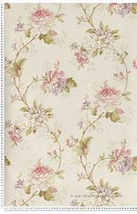 Papier Peint Fleuri : papier peint on pinterest wallpapers deco and murals ~ Premium-room.com Idées de Décoration