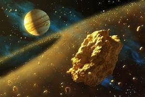 Asteroid Belt Between Mars and Jupiter - Pics about space