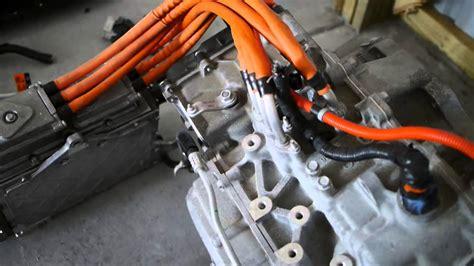 2013 Chevy Volt Motor, Gearbox, Inverter - YouTube