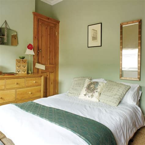 Pretty Pale Green Bedroom  Bedroom Housetohomecouk