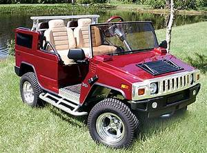 Golf Cars Are The New Golf Carts  Hummer In The Field