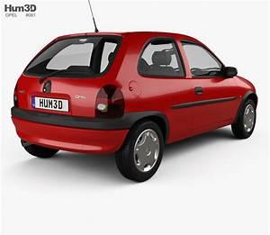 Opel Corsa 1998 : opel corsa b 3 door hatchback 1998 3d model vehicles on hum3d ~ Medecine-chirurgie-esthetiques.com Avis de Voitures