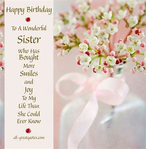 Facebook Happy Birthday Sister Sayings | ... FOR FREE ...