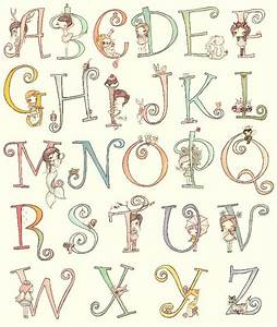 8 best images of cute alphabet letters printable cute