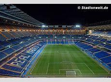 Fotos Santiago Bernabéu, Real Madrid CF – Stadionwelt