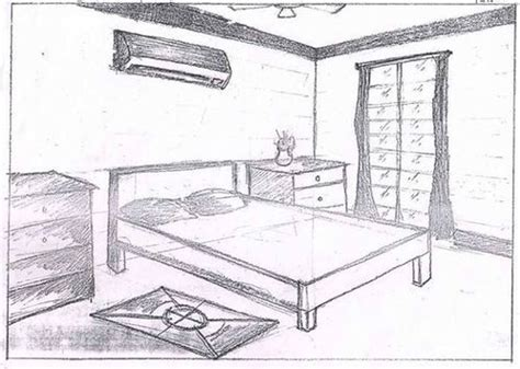 Drawing Of Bedroom by Bedroom Drawing Living Room Drawing Coaching Classes