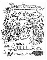Aquarium Coloring Boom Printable Coloriage Imprimer Creatures sketch template