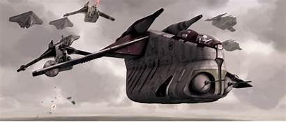 Laati Ryloth Gunship Starwars Wars Laat Republic