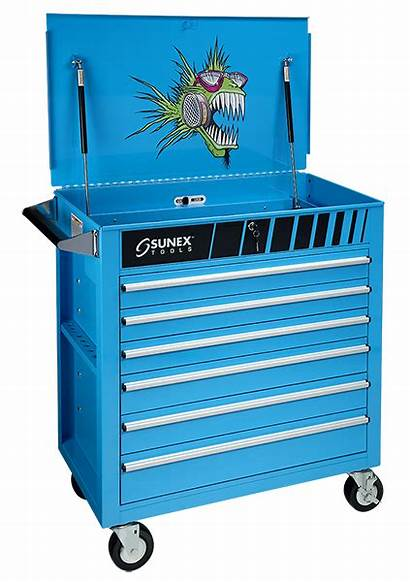 Sunex Cart Service Drawer Nitro Fish Tools