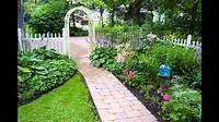 garden design ideas Small garden arbor ideas - YouTube