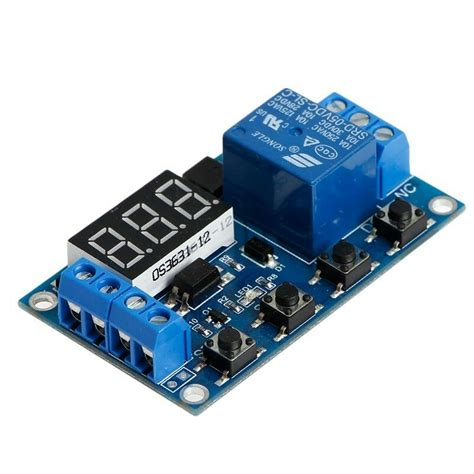 Relay Module Switch Trigger Time Delay Circuit Timer