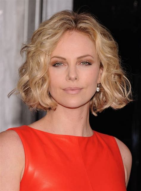 trendy short haircut  women soft curly bob hairstyle