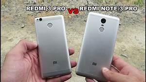 Comparativa  Xiaomi Redmi 3 Pro Vs Xiaomi Redmi Note 3 Pro