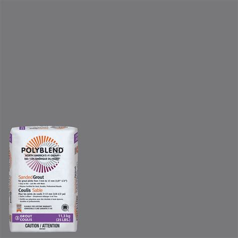 pewter grout custom building products 19 pewter polyblend sanded grout 25lb the home depot canada
