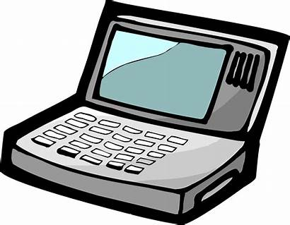 Computer Cartoon Drawing Clipart Getdrawings Transparent Animated
