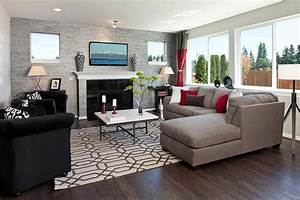 24 design ideas for living room walls With accent wall designs living room