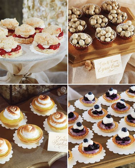 tasty reception food  blake lively ryan reynolds wedding
