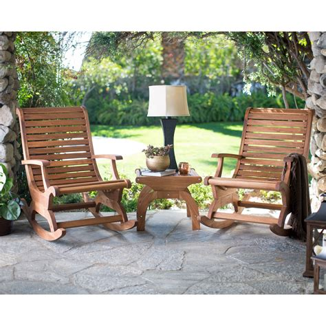 Porch Chairs On Sale by Belham Living Avondale Wood Rocking Chair Set Outdoor