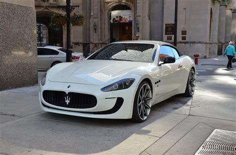 Used Maserati Chicago by Used 2011 Maserati Granturismo Convertible For Sale