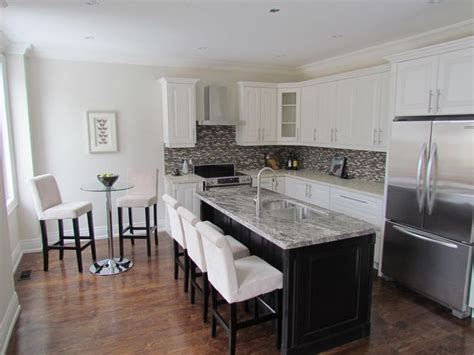 wide kitchen island how do you handle a narrow 5 foot wide kitchen space we 1101