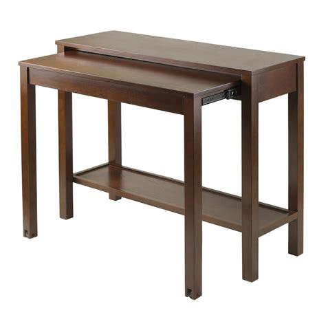 Winsome Brandon Expandable Console Table Review  Space. Locker Furniture Desk. Desk Drink Cooler. Welding Table Designs. Case Desk Knife. Stash Desk. Arc Table Lamp. 4 Inch Dresser Drawer Pulls. Inexpensive Corner Desk