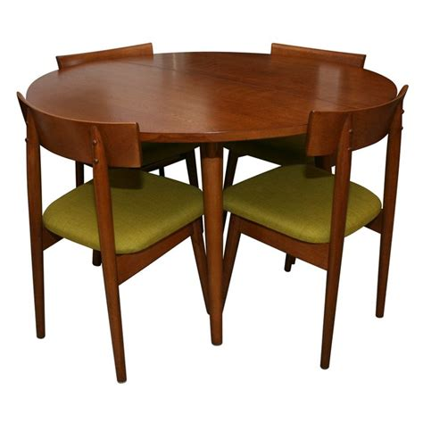 dining table and 4 1950 39 s dining table with 4 chairs by conant