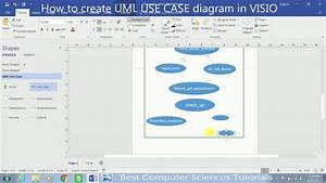 How To Create Uml Use Case Diagram In Visio