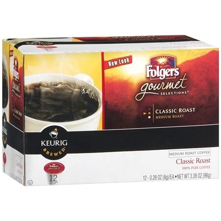 San francisco bay decaf k cup. Folgers Gourmet Selections Ground Coffee K-Cups 12 Pack Classic Roast | Walgreens