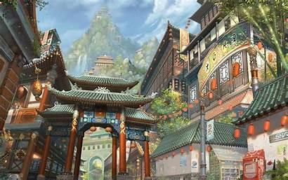 Chinese Desktop Fantasy Wallpapers Korean Japanese Artwork