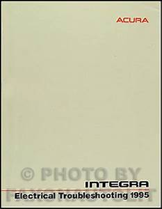 1995 Acura Integra Electrical Troubleshooting Manual Factory Reprint