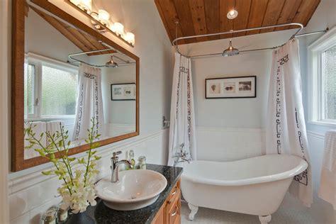 clawfoot tub bathroom design ideas fantastic clawfoot tub shower curtain ideas decorating