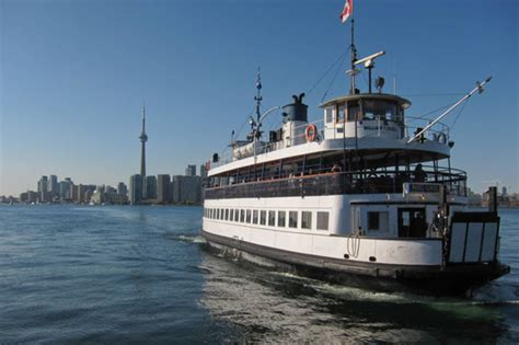 Boat Ride To Dog Island by The Toronto Island Ferry