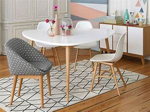 deco salle a manger 5 styles a adopter joli place With salle À manger contemporaine avec tapis rose scandinave
