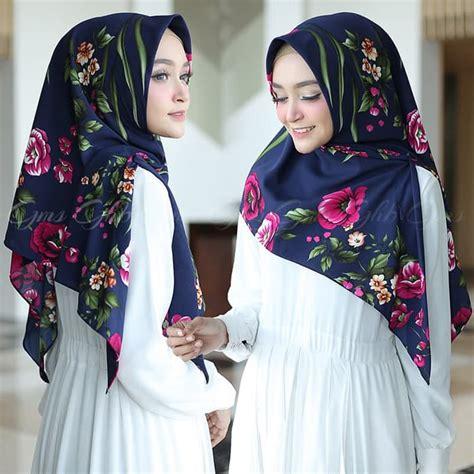 hijab segitiga instan gayatri kekinian terbaru