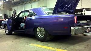 69 Road Runner Pro Street On Alcohol For 1st Time