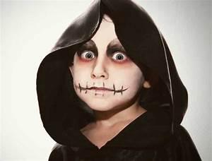 Maquillage Halloween Enfant Facile : maquillage halloween enfant pour gar ons et filles en 10 ~ Nature-et-papiers.com Idées de Décoration