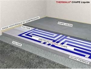 Chape Liquide En Sac : solution de plancher chauffant electrique chauffage ~ Dailycaller-alerts.com Idées de Décoration