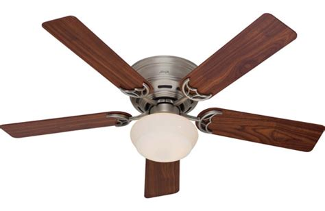 ceiling fans huntington beach hunter 53074 low profile iii 52 light antique pewter