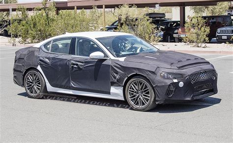 Genesis G70 Comes Into Focus To Take On Bmw 3 Series